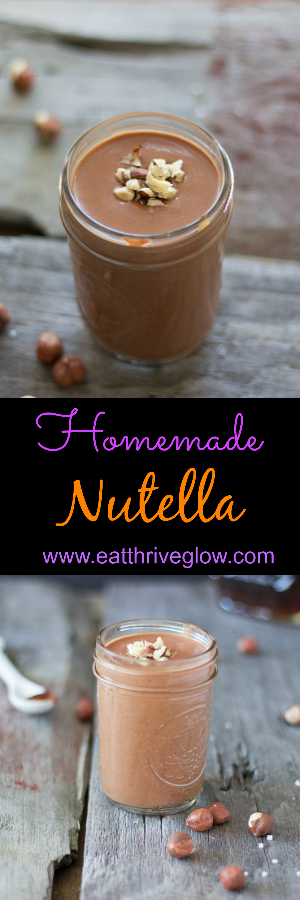 Homemade Nutella - Eat Thrive Glow