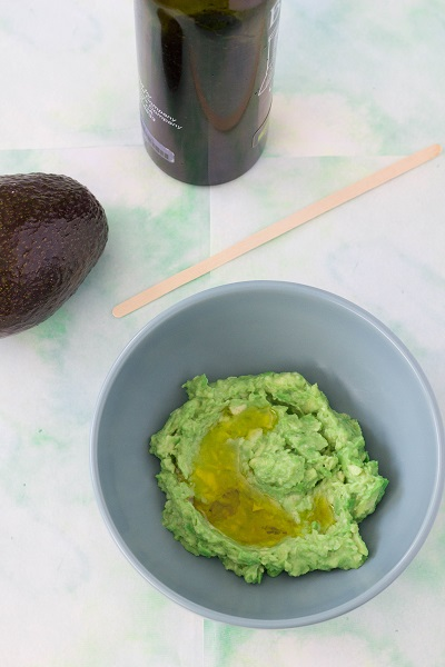 Avocado Olive Oil Face Mask