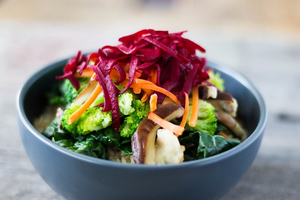 Brown Rice Veggie Bowl
