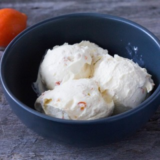 Kumquat Soft Serve Ice Cream