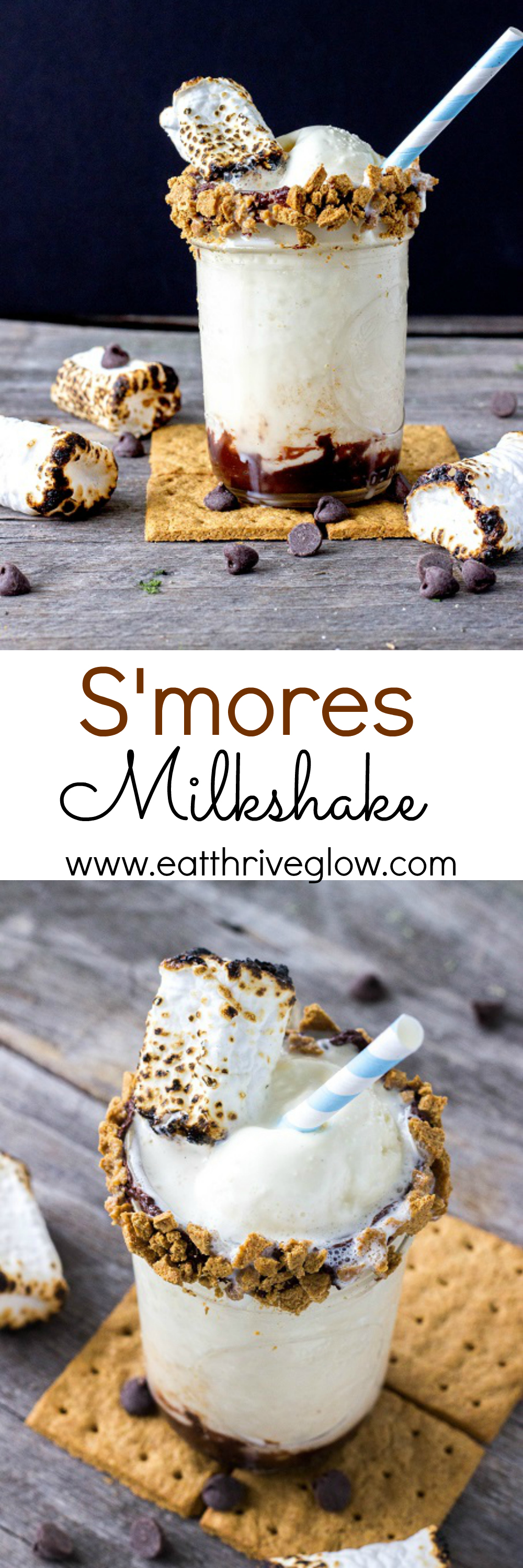 S'mores Milkshake - Eat Thrive Glow